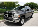 2002 Graphite Metallic Dodge Ram 1500 SLT Quad Cab 4x4 #51079727