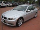 2008 Titanium Silver Metallic BMW 3 Series 335i Coupe #51079572