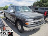 2002 Medium Charcoal Gray Metallic Chevrolet Silverado 1500 LT Extended Cab 4x4 #51079437