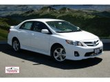 2011 Super White Toyota Corolla S #51079449