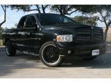 2004 Black Dodge Ram 1500 Laramie Quad Cab #51079935