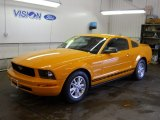 2007 Grabber Orange Ford Mustang V6 Deluxe Coupe #51080122