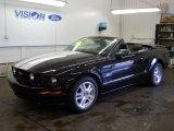 2007 Black Ford Mustang GT Premium Convertible #51080124