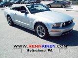 2006 Satin Silver Metallic Ford Mustang GT Premium Convertible #51079941