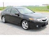 2009 Crystal Black Pearl Acura TSX Sedan #51079943