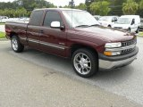 Dark Carmine Red Metallic Chevrolet Silverado 1500 in 2002