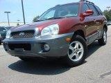 2004 Merlot Red Hyundai Santa Fe LX #51079643