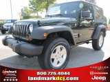 2011 Natural Green Pearl Jeep Wrangler Sport S 4x4 #51079651