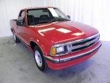 1996 Apple Red Chevrolet S10 LS Regular Cab #51079977