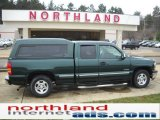 2002 Forest Green Metallic Chevrolet Silverado 1500 LS Extended Cab #51079525