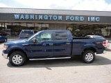2011 Dark Blue Pearl Metallic Ford F150 XLT SuperCrew 4x4 #51079823