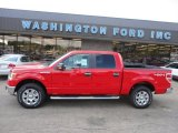 2011 Race Red Ford F150 XLT SuperCrew 4x4 #51079826