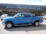2011 Blue Flame Metallic Ford F150 XLT SuperCrew 4x4 #51079828