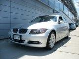 2008 Titanium Silver Metallic BMW 3 Series 335xi Sedan #51079533
