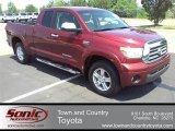 2007 Salsa Red Pearl Toyota Tundra Limited Double Cab 4x4 #51079991
