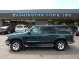 1997 Deep Jewel Green Pearl Ford Explorer XLT 4x4 #51079841