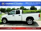 2007 Bright White Dodge Ram 1500 SLT Quad Cab 4x4 #51080001