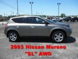 2003 Polished Pewter Metallic Nissan Murano SL AWD #51080187