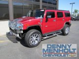 2006 Hummer H2 Victory Red