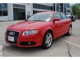 2008 Brilliant Red Audi A4 2.0T S-Line Sedan #51079871