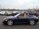 2008 Midnight Blue Metallic Porsche 911 Carrera S Cabriolet #5075877