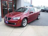 2009 Sport Red Metallic Pontiac G8 Sedan #5093429
