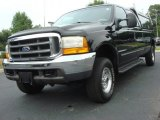 2000 Black Ford F250 Super Duty Lariat Extended Cab 4x4 #51134017