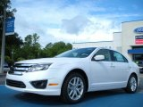 2011 White Platinum Tri-Coat Ford Fusion SEL V6 #51134029