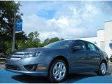 2011 Steel Blue Metallic Ford Fusion SE #51134031