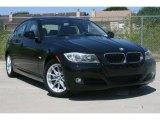 2010 Jet Black BMW 3 Series 328i Sedan #51134373