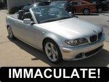 2006 Titanium Silver Metallic BMW 3 Series 325i Convertible #51133903