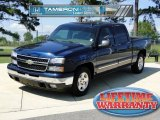 Dark Blue Metallic Chevrolet Silverado 1500 in 2006