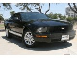 2007 Black Ford Mustang V6 Deluxe Coupe #51134386