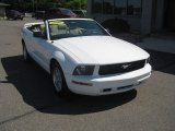 2006 Performance White Ford Mustang V6 Premium Convertible #51134261