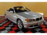 2004 Titanium Silver Metallic BMW 3 Series 330i Convertible #51134417