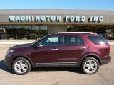 2011 Bordeaux Reserve Red Metallic Ford Explorer Limited 4WD #51134273