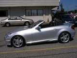 2009 Mercedes-Benz SLK 55 AMG Roadster Data, Info and Specs