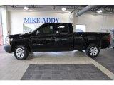 2008 Dark Blue Metallic Chevrolet Silverado 1500 Work Truck Extended Cab #51134159