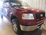 2006 Dark Toreador Red Metallic Ford F150 XLT SuperCab 4x4 #51134450