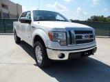2011 White Platinum Metallic Tri-Coat Ford F150 Lariat SuperCrew 4x4 #51134166