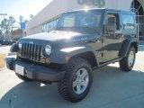 2010 Black Jeep Wrangler Rubicon 4x4 #51134326