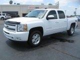 2011 Summit White Chevrolet Silverado 1500 LT Crew Cab 4x4 #51134334