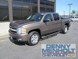 2008 Desert Brown Metallic Chevrolet Silverado 1500 LTZ Crew Cab 4x4 #51134471