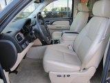 2008 Chevrolet Silverado 1500 LTZ Crew Cab 4x4 Light Cashmere/Ebony Accents Interior