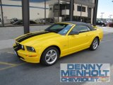 2006 Screaming Yellow Ford Mustang GT Premium Convertible #51134473