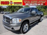2008 Mineral Gray Metallic Dodge Ram 1500 Big Horn Edition Quad Cab 4x4 #51189286