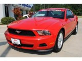 2011 Race Red Ford Mustang V6 Premium Coupe #51189125