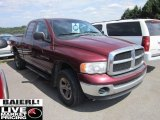 2003 Dark Garnet Red Pearl Dodge Ram 1500 SLT Quad Cab 4x4 #51188656