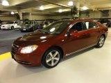 2008 Red Jewel Tint Coat Chevrolet Malibu LT Sedan #51189008