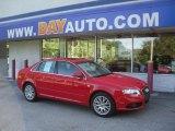 2008 Brilliant Red Audi A4 2.0T quattro S-Line Sedan #51188856